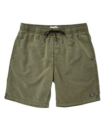 - Billabong Men's All Day Layback Boardshorts Army Green Large