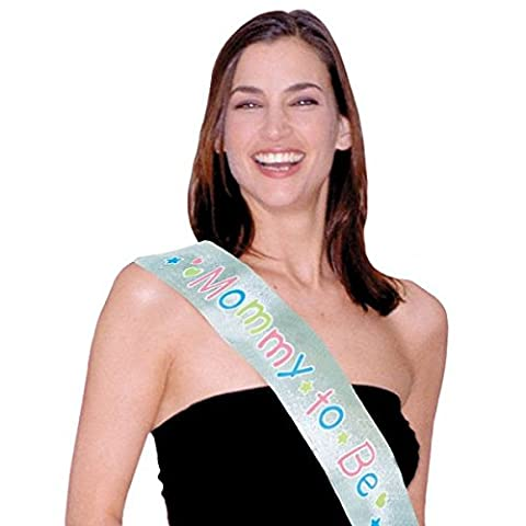 Amscan Delightful Mommy To Be Sash Baby Shower Party Novelty