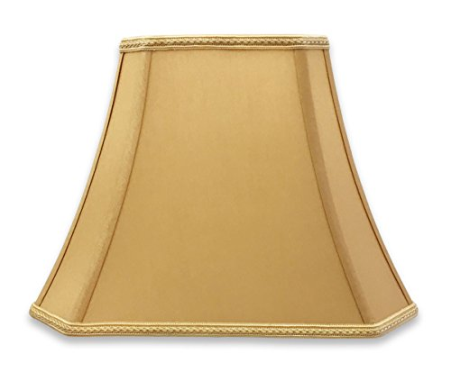 Royal Designs Rectangle Bell w Cut Corners Designer Lampshad