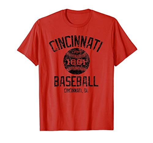 Vintage Cincinnati Ohio Baseball 1881 Classic Fan ()