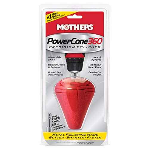 (Mothers 05146 PowerCone 360 Metal Polishing Tool)