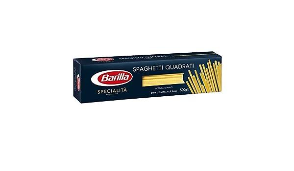 10 x Pasta Barilla Speci alità espaguetis mano Italiano Pasta 500 g pack: Amazon.es: Alimentación y bebidas