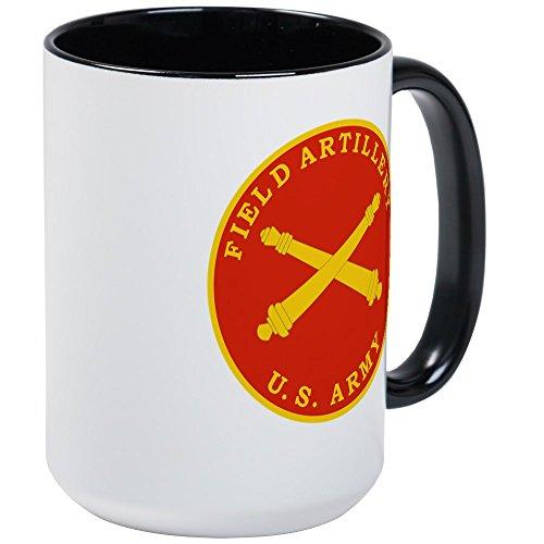 CafePress - Field Artillery Seal Plaque Mugs - Coffee Mug, Large 15 oz. White Coffee (Field Mug)