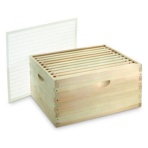 CASTLECREEK 10-Frame Medium Honey Super Beehive by CASTLECREEK