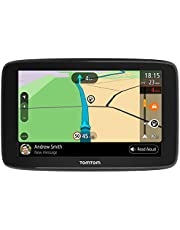 TomTom Car Sat Nav GO Basic, 6 inch, with Updates via WiFi, Traffic and Maps of Australia, New Zealand and Southeast Asia, TomTom roadtrips