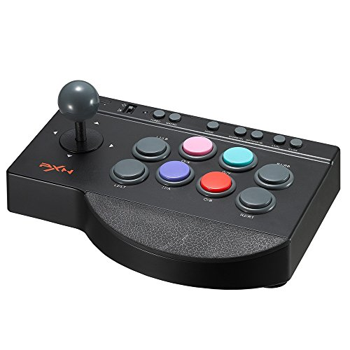 Arcade Fight Stick, YF2009 Wired Fighting Joystick, USB Fightstick Game Controller for PS3 / PS4 / Xbox One/PC (Best Xbox 360 Style Controller For Ps3)