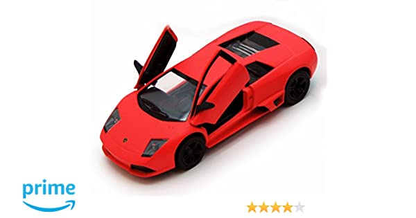 Amazon.com: Kinsmart Lamborghini Murcielago LP640, Orange 5370D - 1/36 scale Diecast Model Toy Car, but NO BOX: Toys & Games