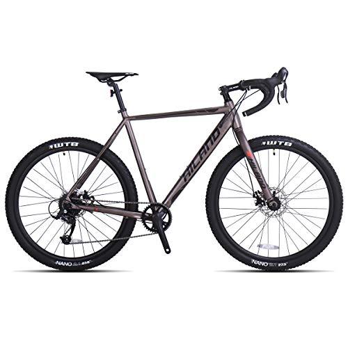 Hiland Gravel Bike for Men and Women Road Adventure Cyclocross