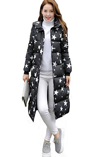 Cintré Mode Adeline Coton Femme Xl Manteau Montagne Rembourré Doudoune Capuche Veste Noir 2016 Taille xYAFzwdTq