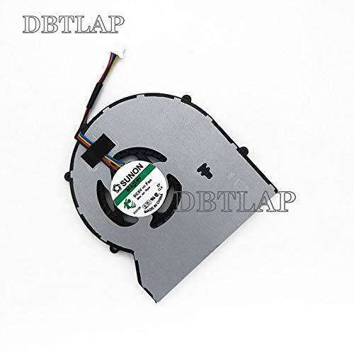 DBTLAP Nuevo Port/átil Ventilador para HP ProBook 430 G1 430G1 470G1 CPU Ventilador 727766-001