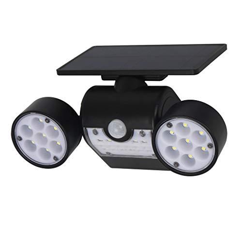 - Nesee Solar Lights Outdoor, Solar Wall Lights Waterproof IP65 Solar Security Lights 360-Degree Rotatable, 30 LED Solar Motion Lights Outdoor for Yard Garden Garage Patio Porch