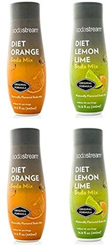 SodaStream 14.8 fl Diet Soda Summer Flavors Value Pack - 4 Pack