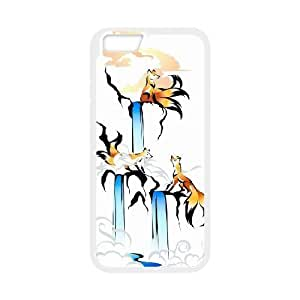 Fox Pattern Hard Shell Phone Case Cover For Iphone 6 Case 4.7 Inch 6