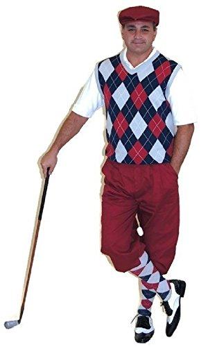 roon Knickers, Cap, Navy, Maroon, Grey Sweater & Socks ()
