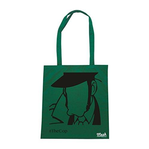 Borsa Zenigata Lupin - Verde Bottiglia - Cartoon by Mush Dress Your Style