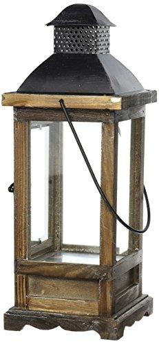 Home Decor Mount Vernon Wooden Lantern44; - Vernon Outlets Mount