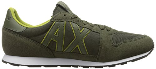 Sneaker Armani Exchange Running Fashion X Sneaker Army Men Retro A gqFC5x