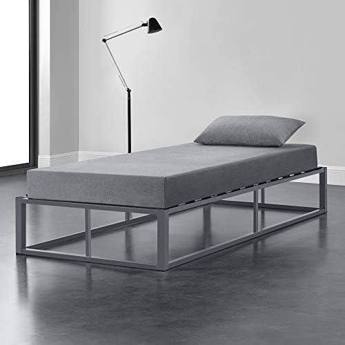 [en.casa] Cama de Metal 90cm x 200cm Estructura Estable con ...