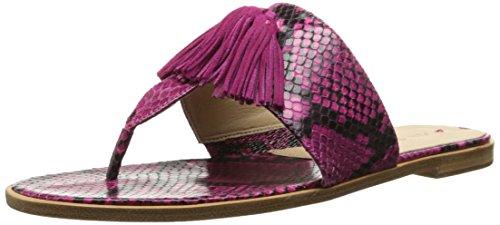 Via Spiga Women's Terrin Thong Sandal - Bright Fuchsia/Fu...