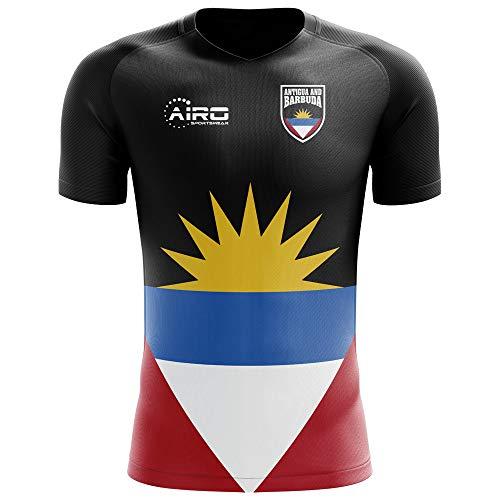 (Airo Sportswear 2018-2019 Antigua and Barbuda Home Concept Football Soccer T-Shirt Jersey)