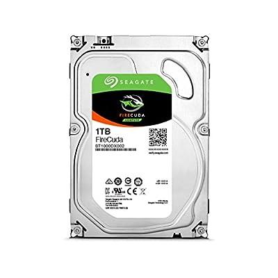 "Seagate 1TB Firecuda (Solid State Hybrid) SATA 6GB/s 64MB Cache 3.5"" Internal Bare Drive ST1000DX002"