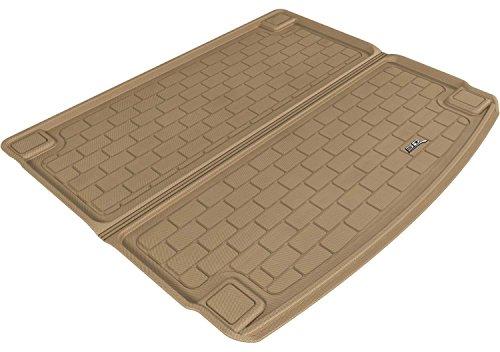 3D MAXpider Cargo Custom Fit All-Weather Floor Mat for Select Porsche Cayenne/Volkswagen Touareg Models – Kagu Rubber (Tan)
