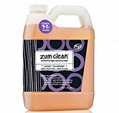 h·e Highly Concentrated - Cleans 32 LoadsMaid by Nature. Highly concentrated Great for high-efficiency machines Handmade with pure essential oils Free of synthetic chemicals No sodium lauryl sulfate! Zum Clean is not a detergent.It's a deterr...
