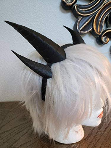 Professional cosplay Dragon horns 3D printed dragon horns, dragon costume horns horned headband horns on a - Horned Headband