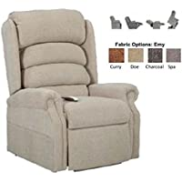 NM-1950LT (Charcoal) Mega Motion Galaxy Ultimate Power Recliner and Chaise Lounger. Free Curbside Delivery.