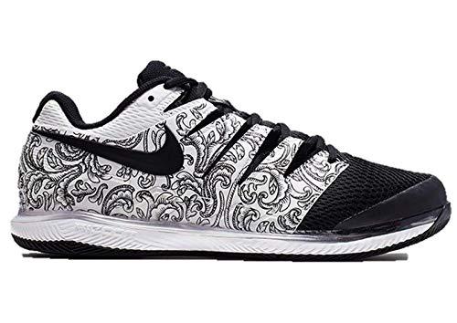 Nike Womens Zoom Vapor X Tennis Shoes (7.5 B US, White/Black)