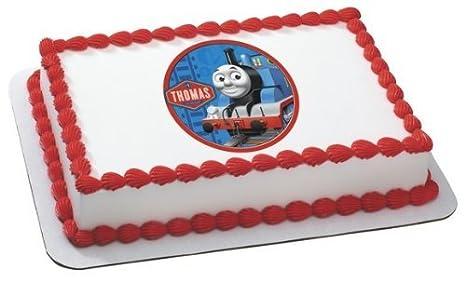Amazon.com: Thomas el Tren Comestible Glaseado imagen por ...