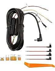 Hardwire Kit Kabel, compatibel met THINKWARE Dash Cams Parking Mode Kabel, Impact en Bewegingsdetectie, Alternatieve Voeding van Zekeringdoos, Gift 8 Zekeringkraan Kabel (16 ft)