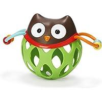 Roll Around Owl ( Coruja) - Brinquedo para bebe com chocalho, Skip Hop, Marrom