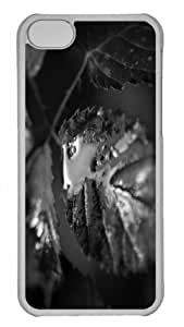 Customized iPhone 6 PC Transparent Case - The Leaves And Dew Personalized Cover