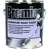 HENRY, WW COMPANY PR500042 Premier Aluminum Roof Paint, 1 Gal, 1 gallon