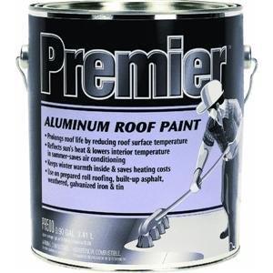 Superior HENRY, WW COMPANY PR500042 Premier Aluminum Roof Paint, 1.