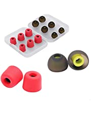 Replacement Earbuds,New Bee Earphone Tips Memory Foam Earbuds Silicone Noise Isolation Cover for Jaybird,Beats,Sony,Nexus, LG,(6 Pairs,3 Sizes)