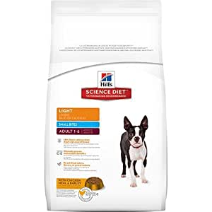 Hill's Science Diet Adult Light Small Bites Dry Dog Food, 5-Pound Bag