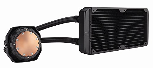 Large Product Image of Corsair CW-9060025-WW  Hydro Series, H100i v2, 240mm Radiator, Dual 120mm PWM fans, Advanced RGB Lighting and Fan control with software, Liquid CPU Cooler