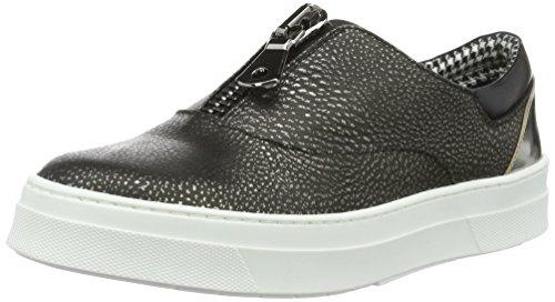 Pollini Shoes SA1504, Scarpe Basse da Donna Grigio (Grey 90b)