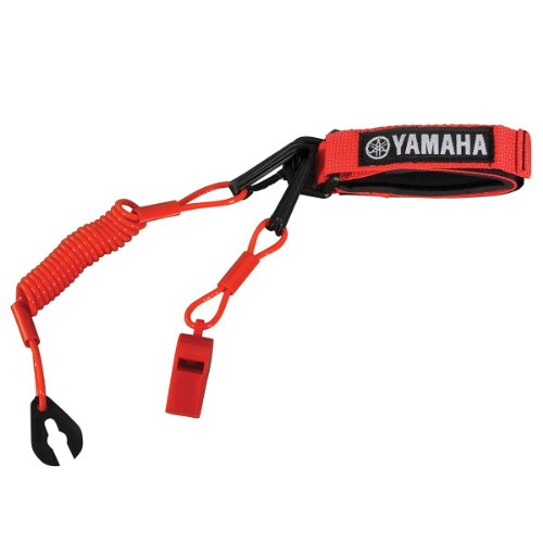 Yamaha WaveRunner Pro Lanyard with Whistle RED