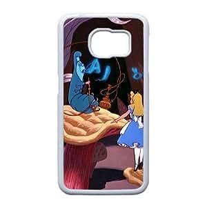 Samsung Galaxy S6 Edge Phone case White Alice in Wonderland TRPP4561387