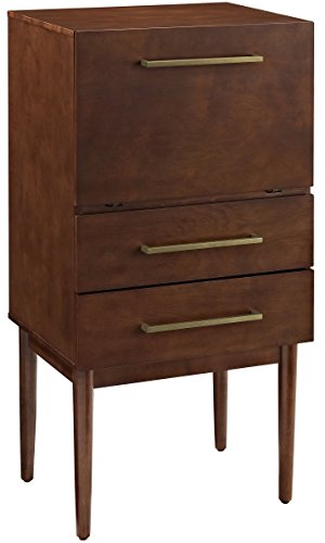 (Crosley Furniture Everett Spirit Cabinet - Vintage)