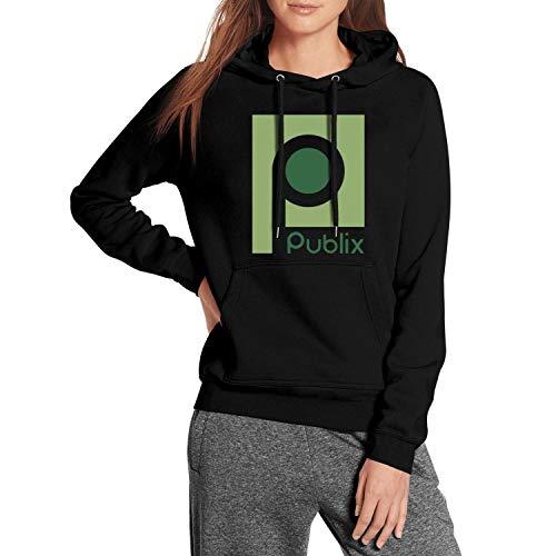 (Long Sleeve Womens Publix Pullover Hoodie Sweatshirt)