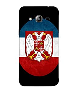 ColorKing Football Serbia 03 Multi Color shell case cover for Samsung J3 2016