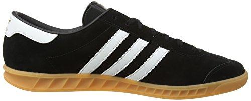 noires Homme Gomme noires Hamburg basses Baskets 2 Adidas Chaussures Noir 4qSv0