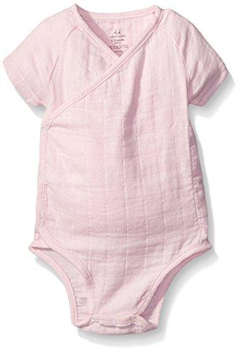aden + anais Baby Girls Short Sleeve Kimono Body Suit