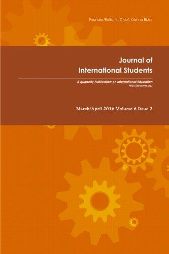Journal of International Students 2016 Vol 6 Issue 2 (Volume 6)