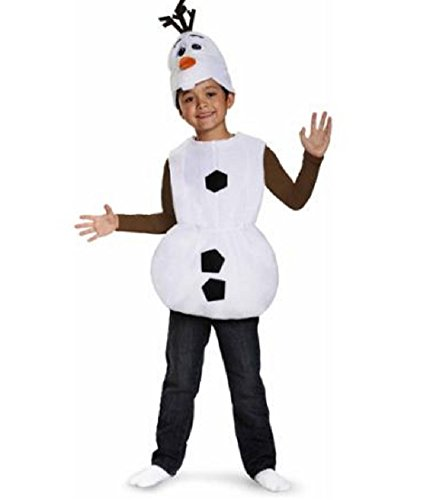 Olaf Costumes Toddler (Disney Frozen Olaf Toddler Costume (3T- 4T))