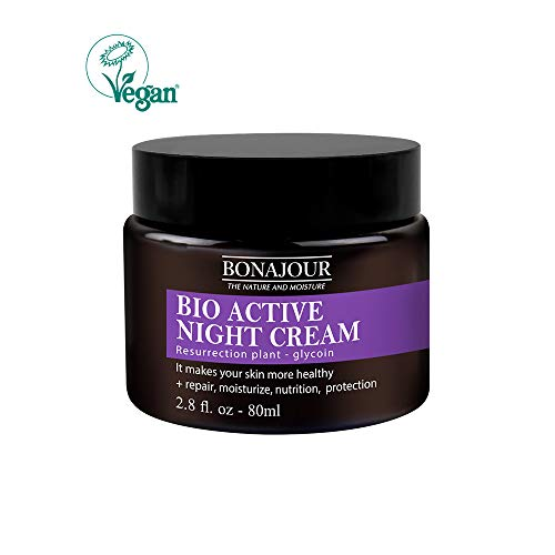 [BONAJOUR] Resurrection Plant Water Sleeping Mask Natural Night Cream – Renewal & moisturizing & nutrition Face Mask 2.8Fl.oz
